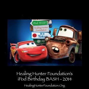 Healing Hunter Foundation iPod Birthday Bash 2014 Lightning