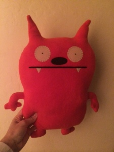 stuffed demon #2 - everything is awesome.