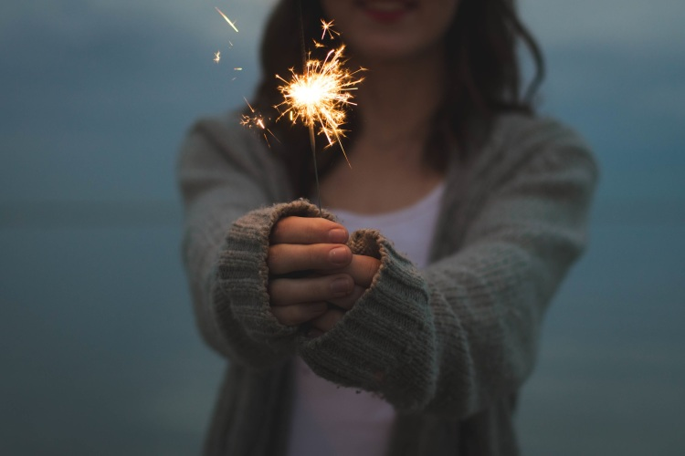 Baby, you're a firework. Who cares if you are cool or not.