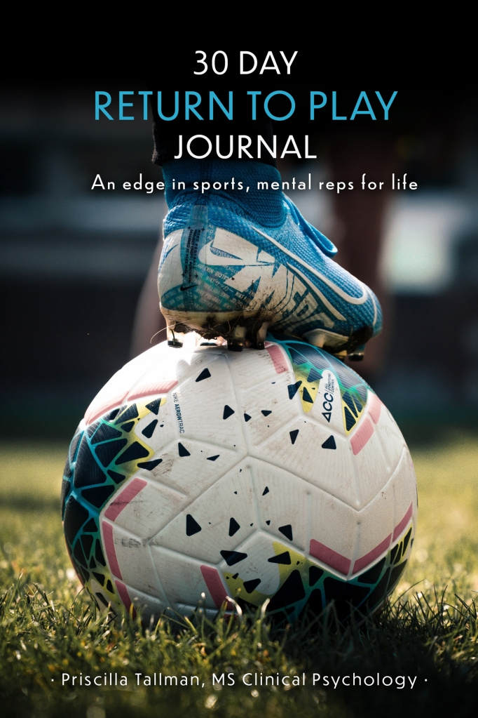 Return to Play Journal